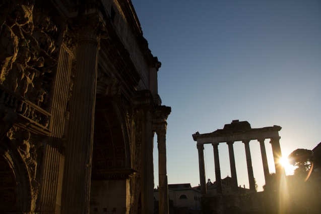 Temple of Saturn, Rome, Italy