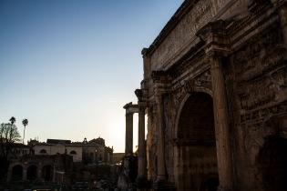 TemplRoman Forum, Rome, Italye of Saturn, Rome, Italy