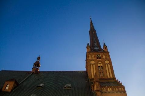 St James Cathedral, Szczecin, Poland.