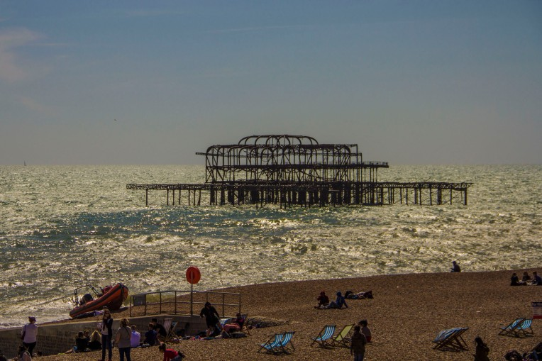 West Pier, Brighton, UK