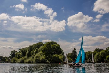 Sailboat, Richmond, London, UK