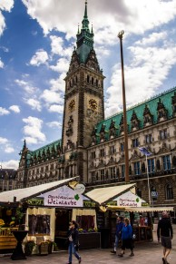 Town Hall, Hamburg Rathaus, Germany