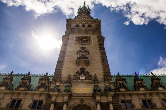 Town Hall, Hamburg Rathaus, Germany