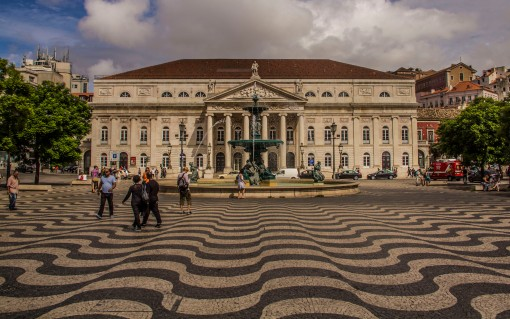 D.Maria II theater, Lisbon