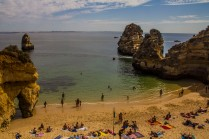 Lagos beach, Portugal.