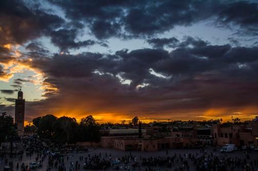 Jemaa el-Fnaa, Marrakesh, Morocco