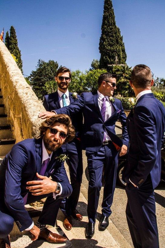 This wedding is gangsta.