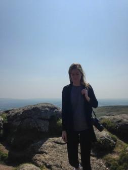 Jackie loves Dartmoor.