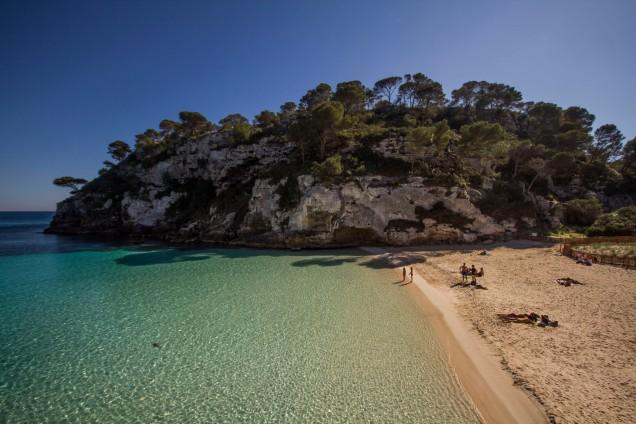 Cala Macarelleta, Spain