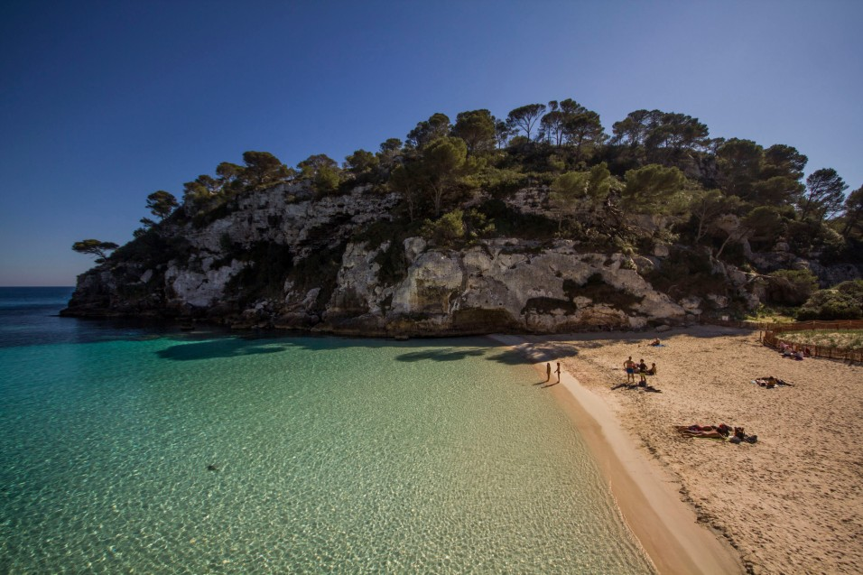 Cala Macarelleta, Spain