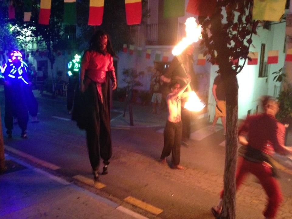 San Juan fiesta