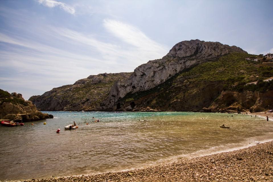 Playa de la Granadella, Costa Blanca