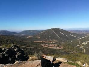 Las montañas.